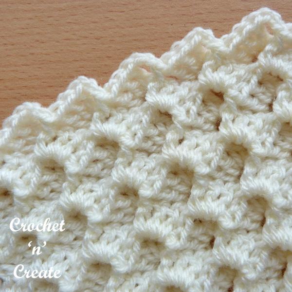 raised textured group stitch