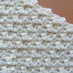 single crochet group stitch