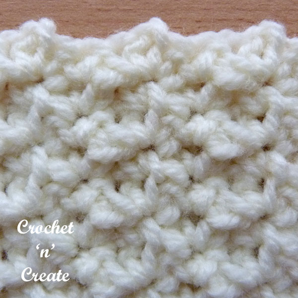 single crochet group3