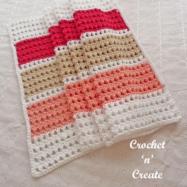 crochet mediterranean summer wrap