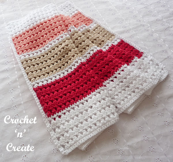 Crochet Mediterranean Summer Wrap10