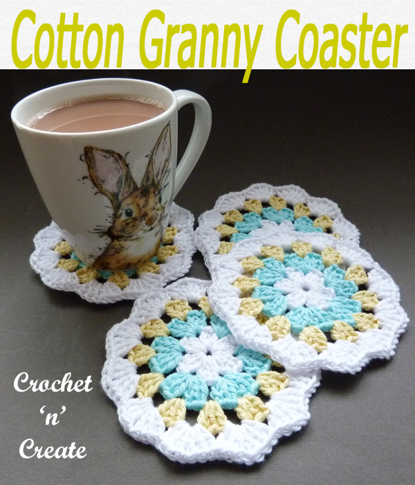 cotton granny coaster