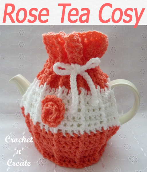 rose tea cosy