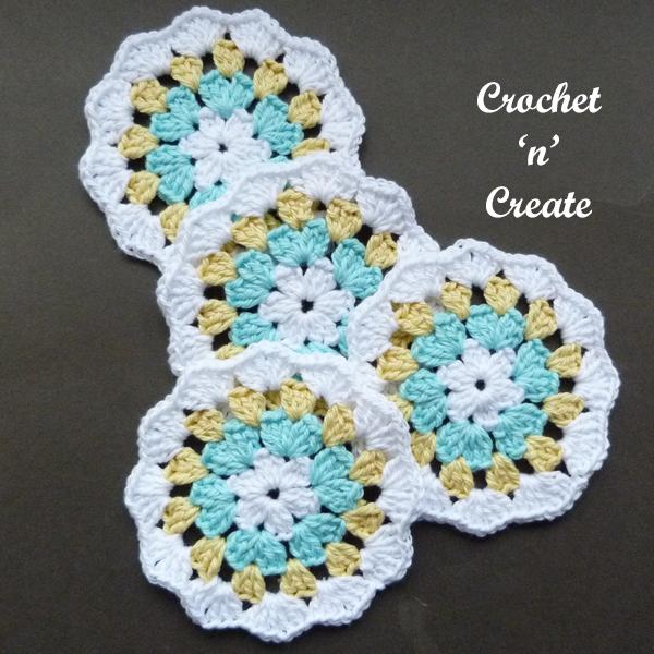 crochet coaster3