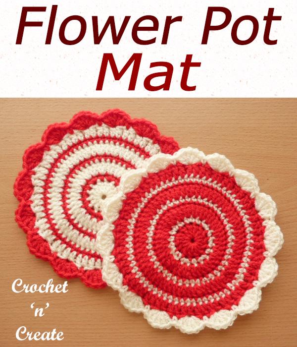flower pot mat