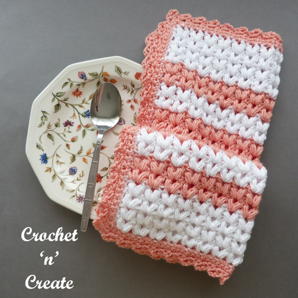 free crochet dishtowel13