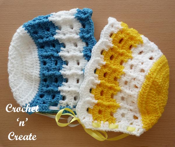 yellow-blue hats