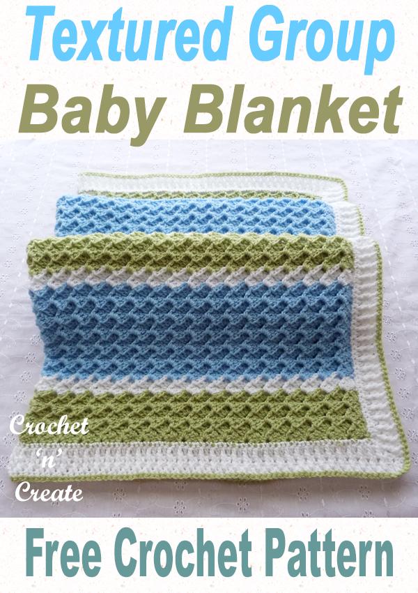textured group baby blanket