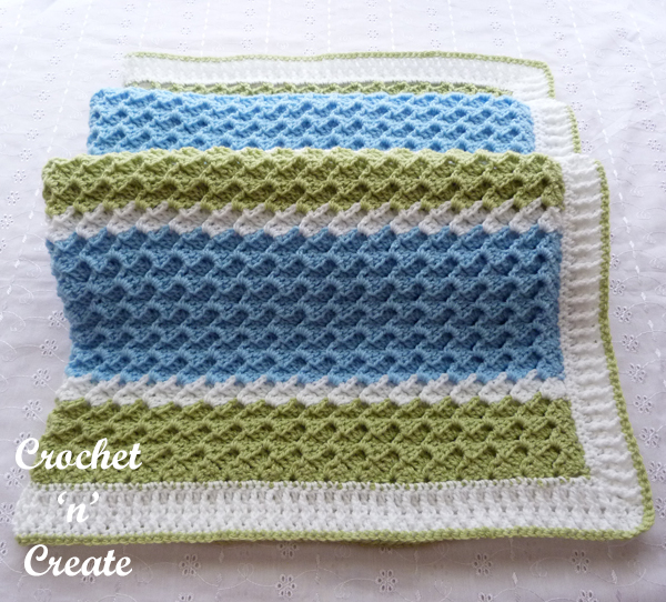 textured group baby blanket image
