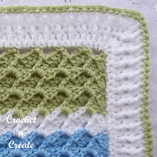 textured group baby blanket border6