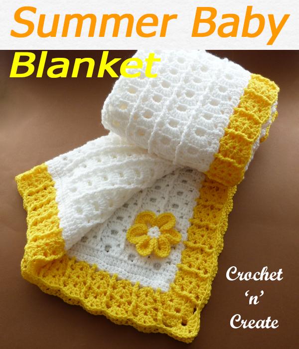 summer baby blanket