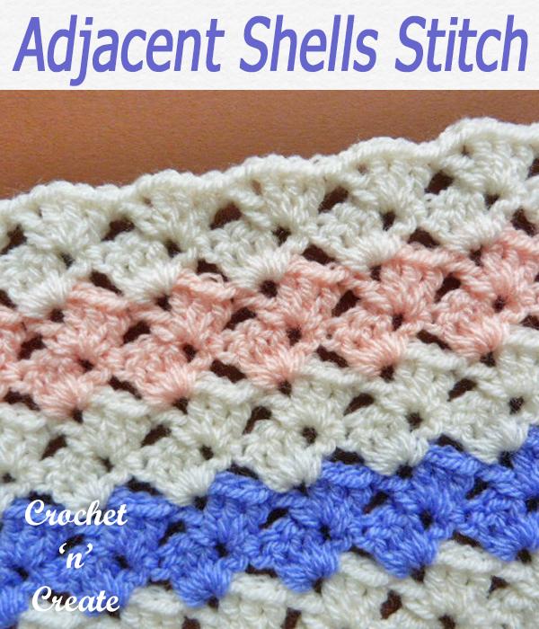 adjacent shells stitch