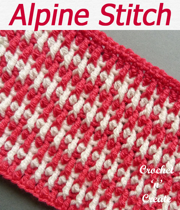 alpine stitch