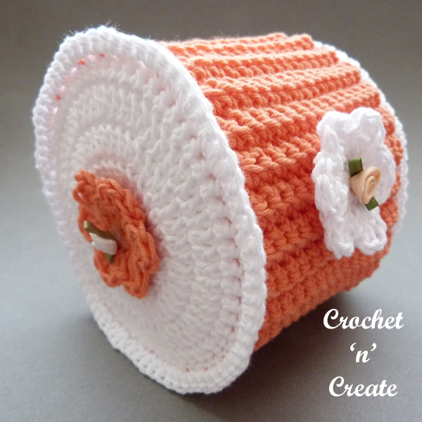 crochet toilet cover