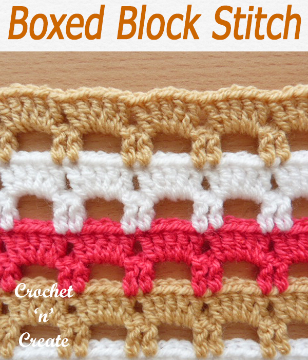 boxed block stitch