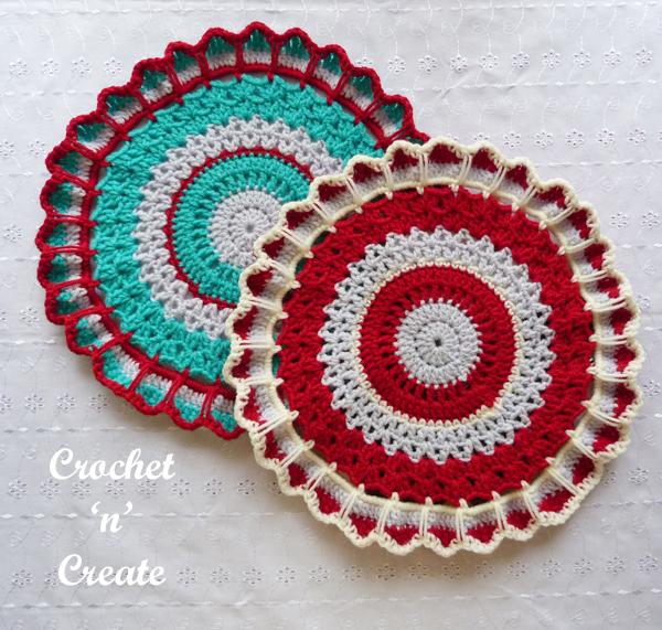 free crochet doily