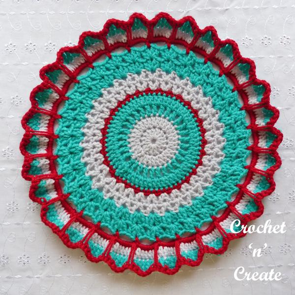 circular doily