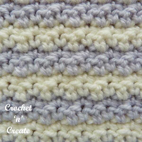 crochet crinkly stitch tutorial