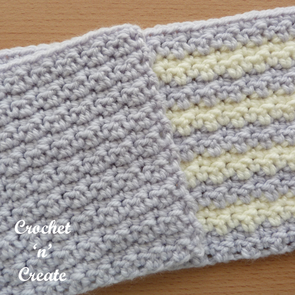 crinkly stitch pattern