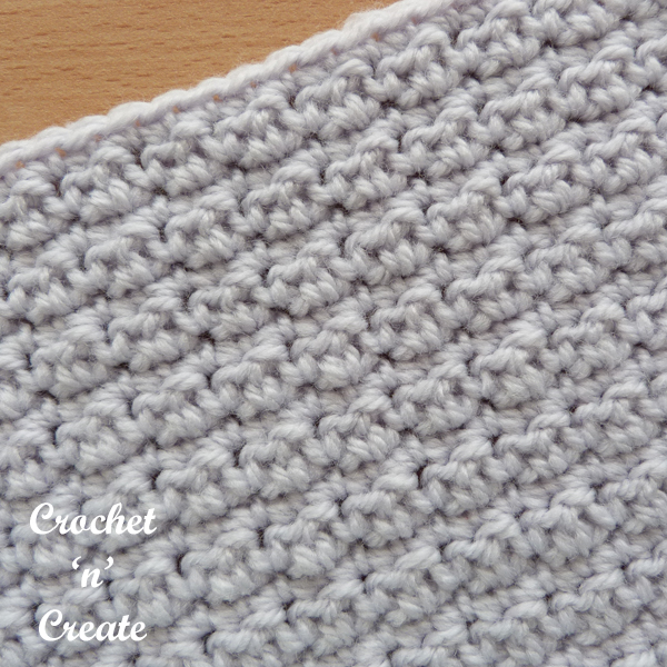 free crinkly stitch
