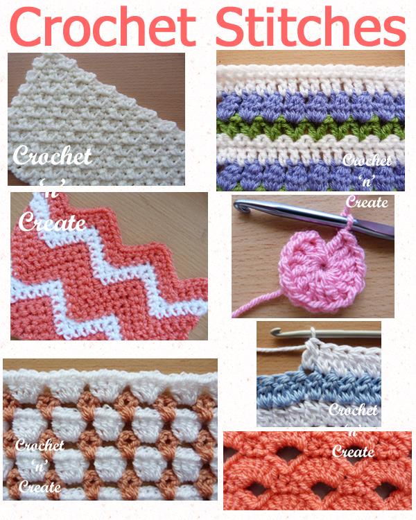 crochet stitches