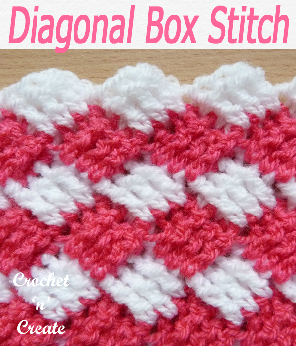 diagonal box stitch