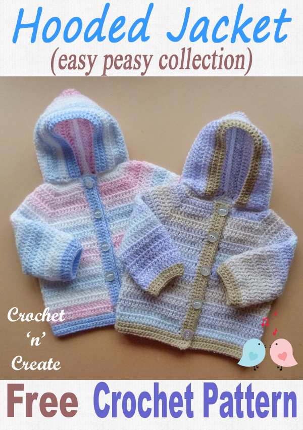 easy peasy hooded jacket