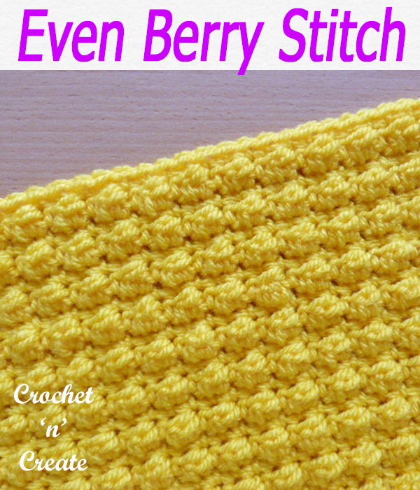 even berry stitch