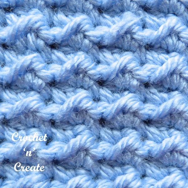 blue close up stitch