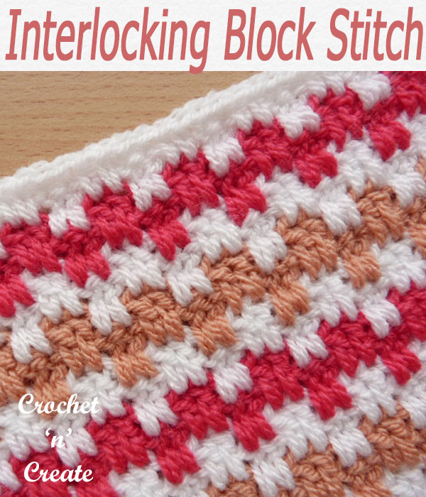 interlocking block stitch