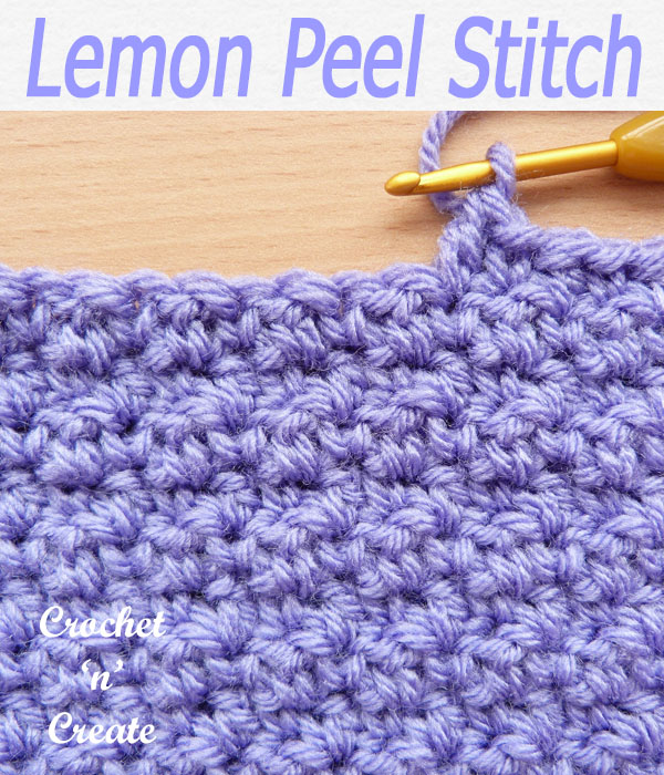 lemon peel stitch