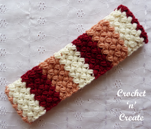 free crochet hairband pattern