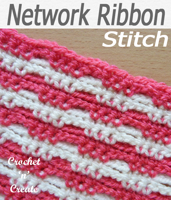 network ribbon stitch