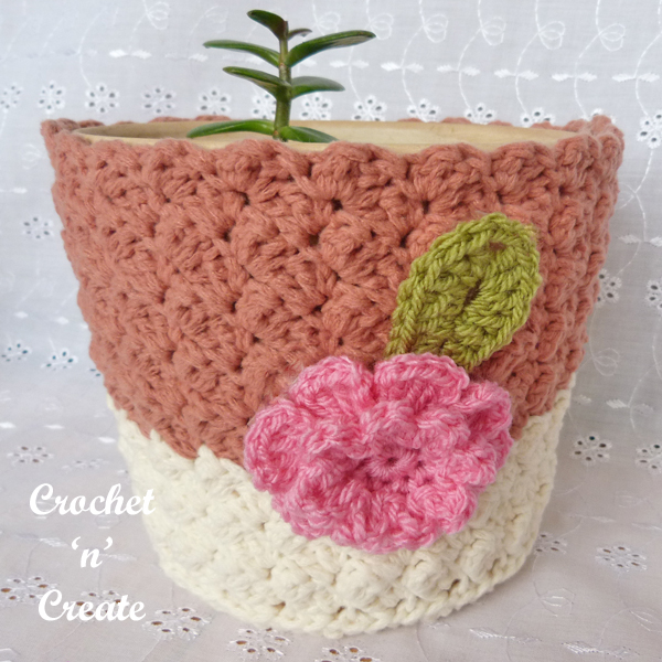 single crochet cover