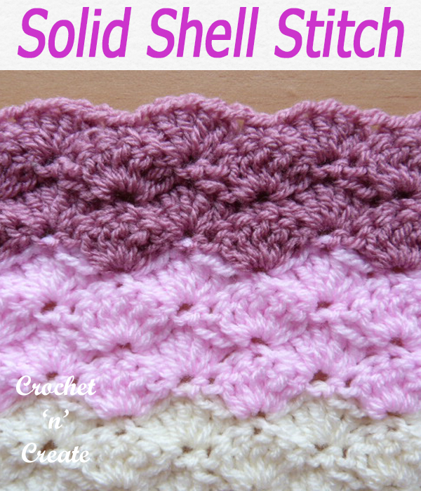 solid shell stitch