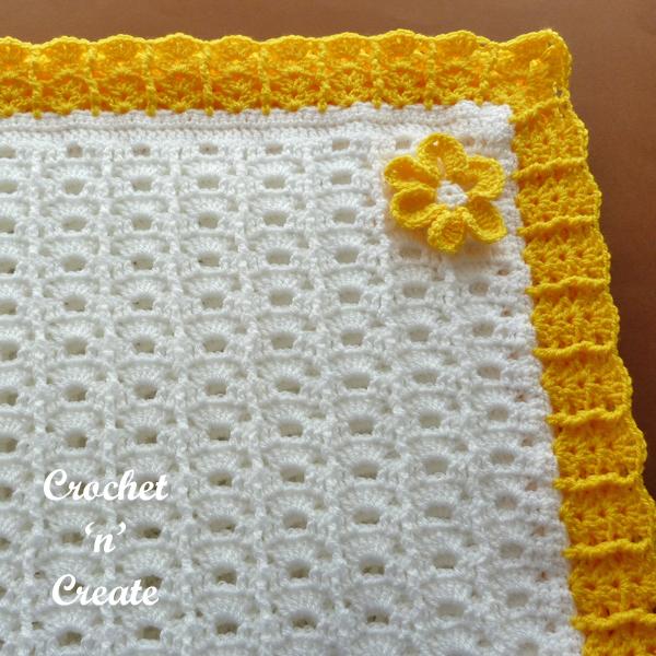 free crochet blanke
