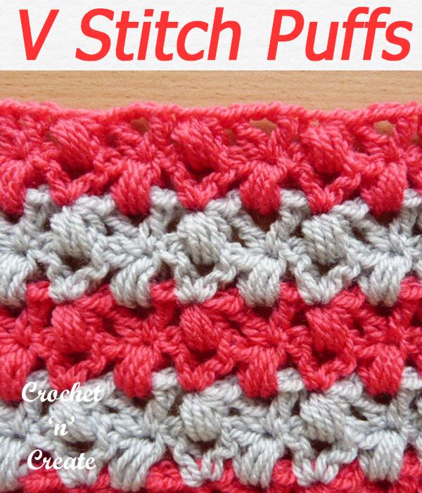 v stitch puffs