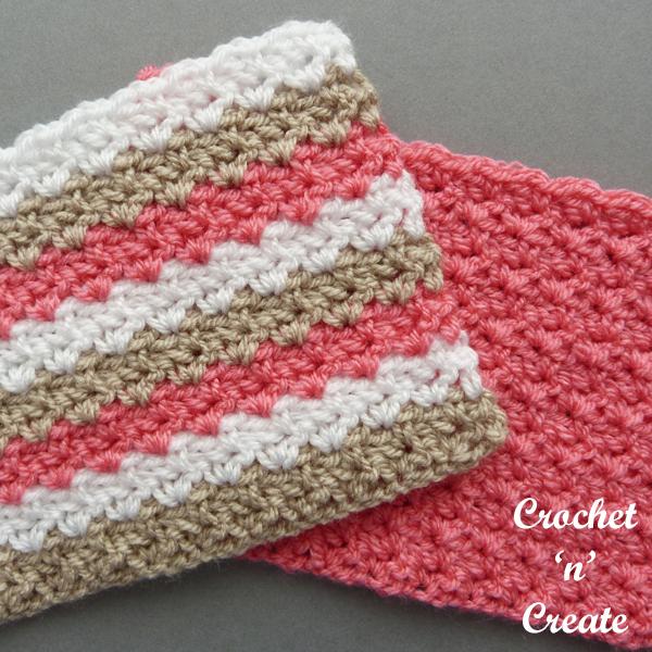 crochet wattle stitch