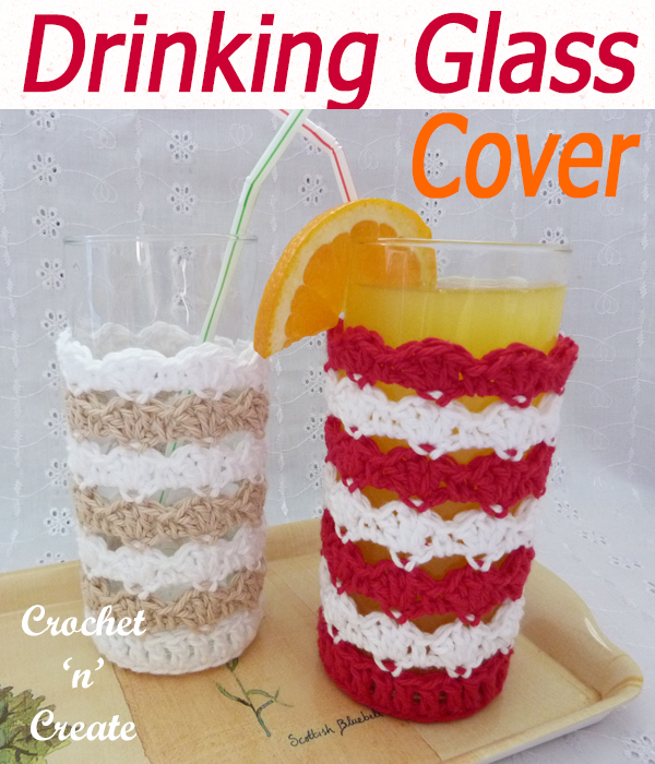 drinking glass cover