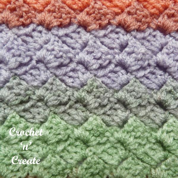 closeup hatch shawl