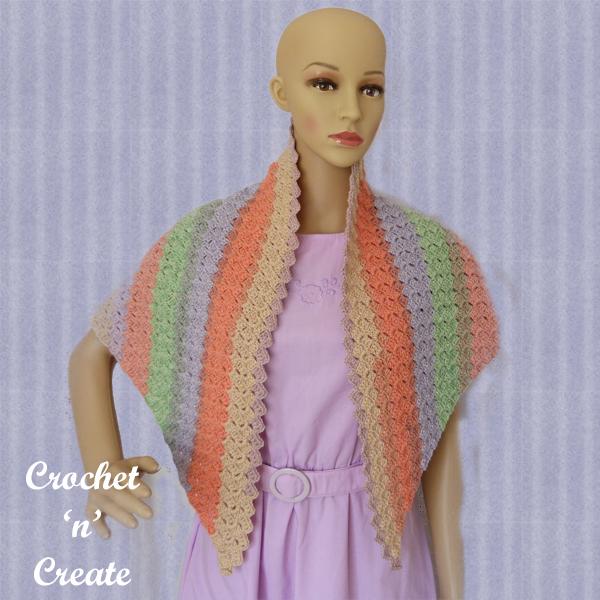 c2c shawl