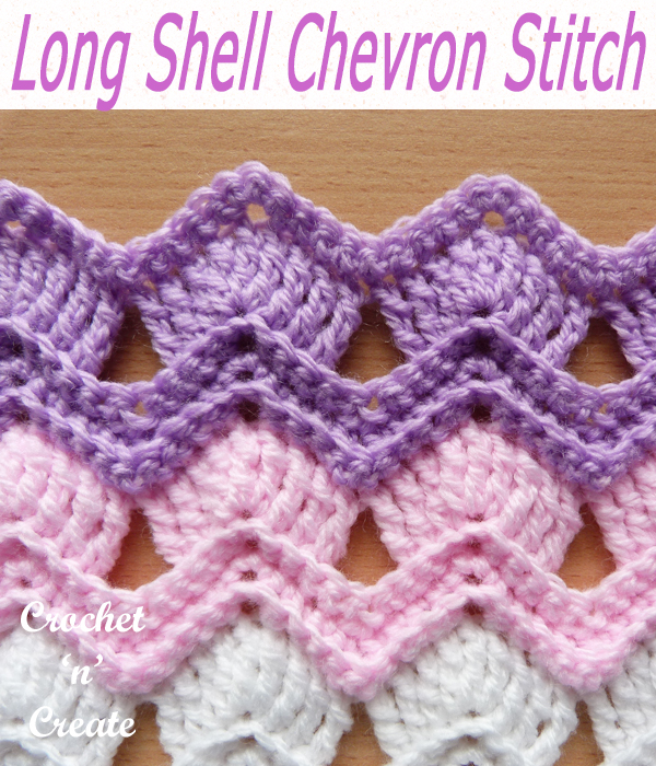 long shell chevron