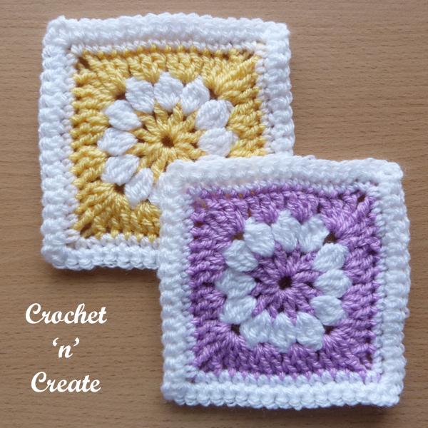 yellow-lilac square
