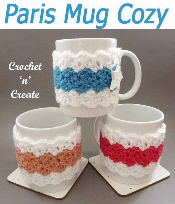 paris mug cozy
