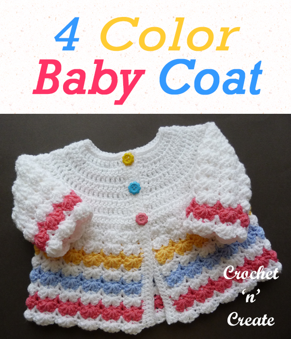 four color baby coat
