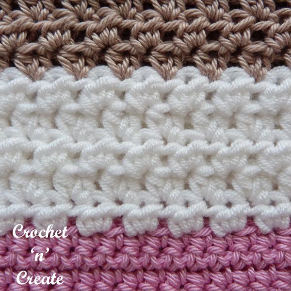 crochet bag stitch