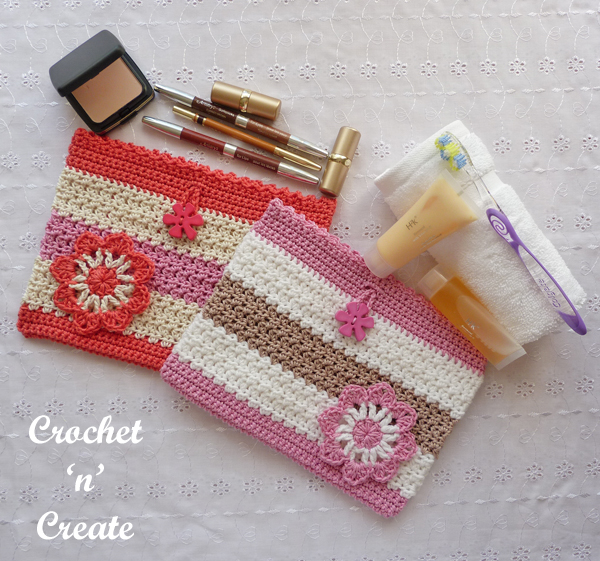 toiletries & makeup bag