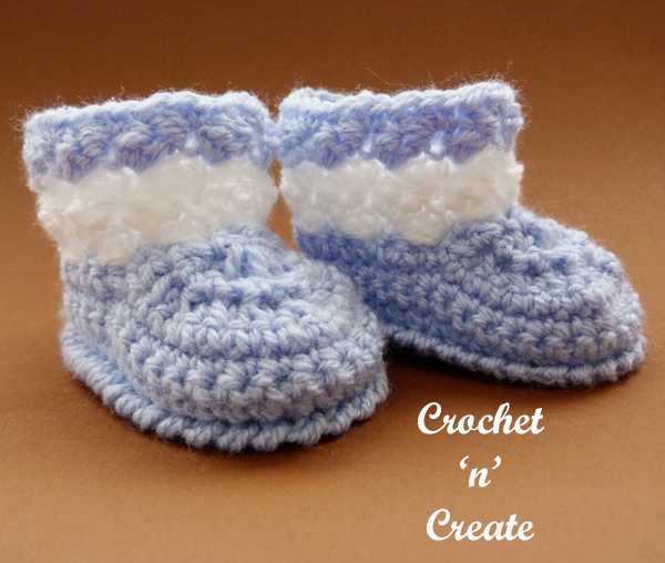 tommys crochet booties