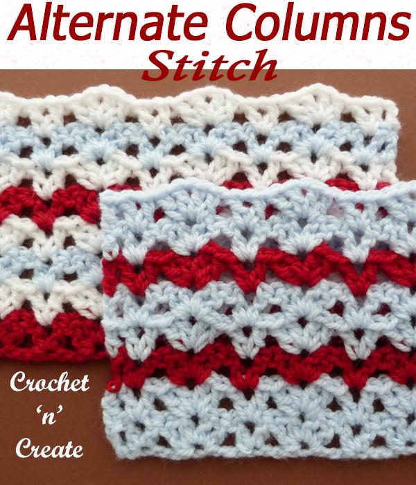 alternate columns stitch
