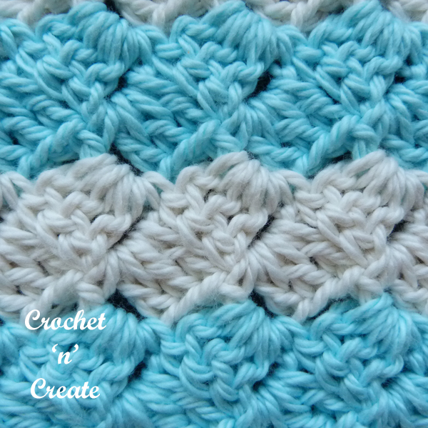stitch c2c washcloth